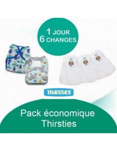 Pack Economique Thirsties - Coloris au choix