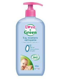 Love & Green Eau Micellaire Nettoyante Bio 500ml