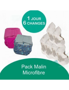 Pack Malin Grovia Microfibre - Coloris au choix