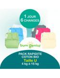 Pack Rapidité Bio - Colori au choix