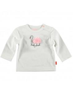 Shirt Swan Pompon White - 62