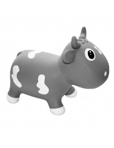 Kidzz Farm Jumping Animal - Bella The Cow - Gris