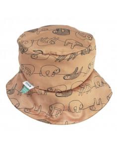 Chapeau de soleil coton bio 12-18 mois - Silly Sloth