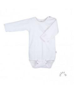 Body LM Coton Bio T74-80 - Blanc