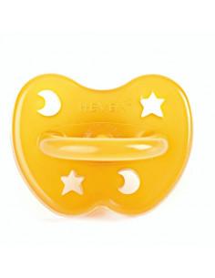 Sucette orthodontique Hevea naturel - étoile