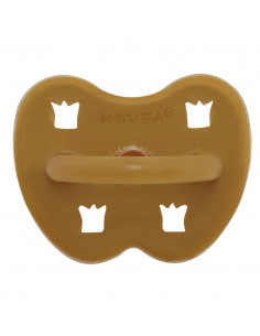 Sucette orthodontique Hevea 3-36m - Turmeric