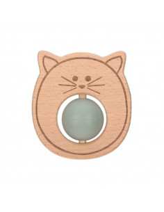 Hochet de dentition Little Chums - Cat