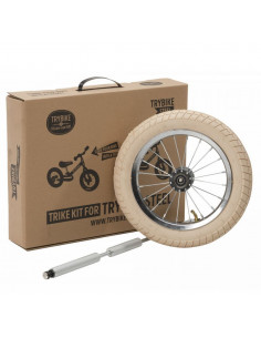 Trybike Steel - Kit 3ème roue blanche