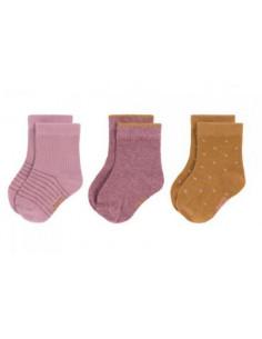 Chaussettes été coton bio 19-22 - Rosewood