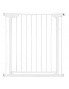 Barrière de sécurité 75-81 cm métal - Blanc