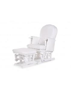 Housse pour fauteuil d'allaitement Childhome - Blanc