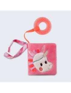 Imagier tissu - Louise la licorne