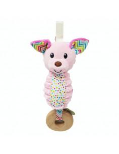 Jouet d'activité Gogaga - Chime Pink dog