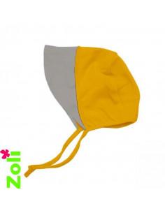 Chapeau soleil Beguin lin - Ocre/Beige