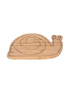 Planche à tartine en bambou - Snail