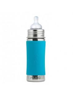 Biberon inox Pura 325 ml - Aqua