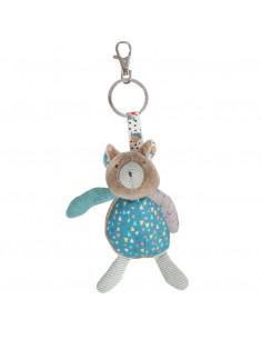 Porte-clé ours marron - Les Jolis trop beaux