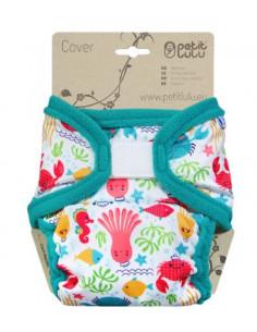 Culotte de protection Velcros XL Petit Lulu - Lagoon