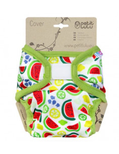 Culotte de protection Velcros XL Petit Lulu - Melons