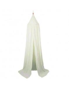 Ciel de lit coton bio Filibabba - White