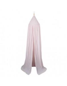Ciel de lit coton bio Filibabba - Rose Clair