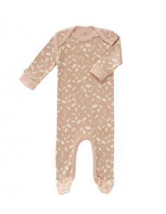 Pyjama coton bio avec pied 0-3m - Forest