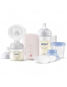 Tire-lait électrique Avent Natural - Kit d'allaitement