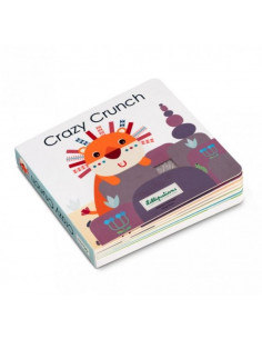 Livre tactile et sonore - Crazy Crunch