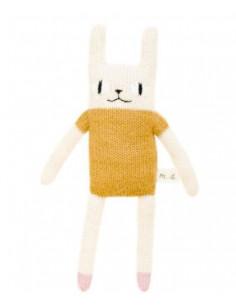 Doudou en laine - Rabbit Mustard