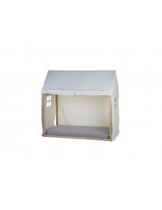 Toile Petite Maison 70X140 - Blanc