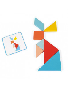 Le tangram - Essentiel