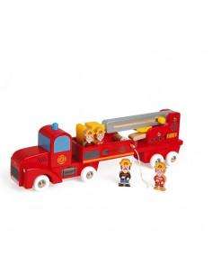 Camion de pompiers géant - Story