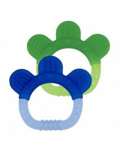 Jouet dentition silicone marine-vert