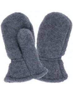 Moufles polaire de laine - Anthracite - T.0