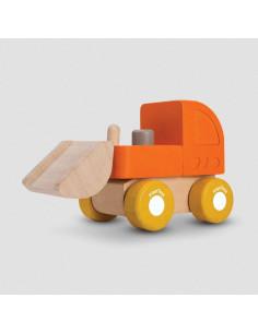 Mini véhicule en bois - Bulldozer