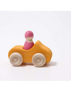 Voiture cabriolet - Yellow