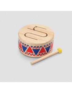 Tambourin en bois