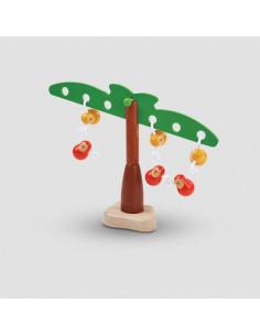 Jeu d'équilibre bois - Balancing Monkeys
