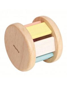 Rouleur bois - Pastel