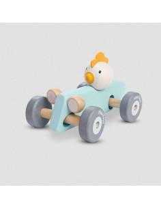 Voiture de course bois - Chicken Racing Car