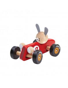 Voiture de course bois - Rabbit Racing Car