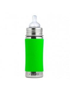 Biberon inox Pura 325 ml - Green