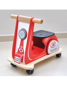 Trotteur Jamm Scott - Racing Red