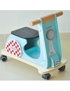 Trotteur Jamm Scott - Aqua Racer