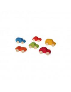 Jeu de voitures 6pc - Multicolore