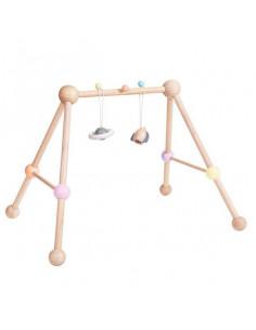Portique en bois - Baby gym