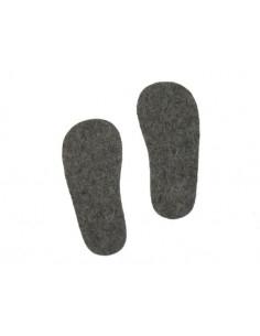 Semelle en feutre pour chaussons