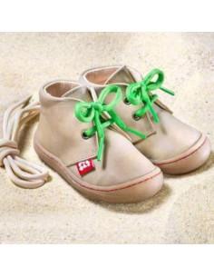 Chaussure cuir Pololo Juan 24 - Stone