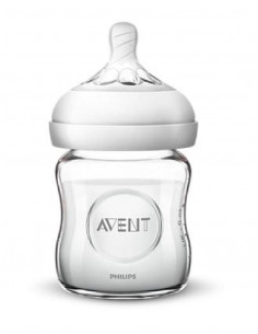 Biberon Avent verre Natural - 120ml