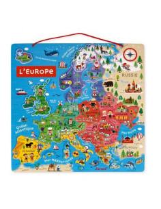 Puzzle Europe Magnétique